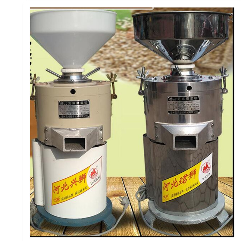 220V 35Kg/H Commercial Stainless Steel Electric Peanut Grinding Machine Peanut Butter Sesame Paste Peanut Paste Grinder Machine udmj 180 peanut butter sesame paste making machine peanut grinder
