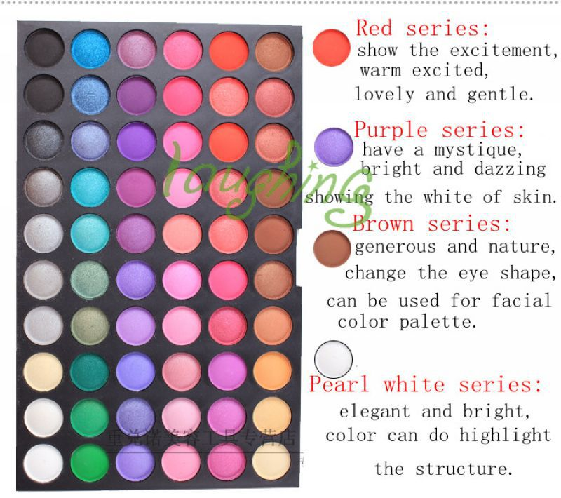 Free Shipping Pro 120 Full Color Eyeshadow Palette Eye Shadow Makeup
