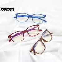 bauhaus Anti Blue Light Glasses Men Reading Goggle Ray Protection Eyewear Computer Eyeglasses Gaming Glasses for Women