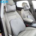1 set High Grade Memory Foam Cotton Car Lumbar Back Support Pillow Cushion Headrest Neck Pillow for w5w ford bmw e46 toyota Audi