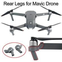 2 шт. высота Удлиненная сзади посадка Шестерни для DJI Мавик Pro Platinum Drone ноги повысить протектор запасных Запчасти аксессуары