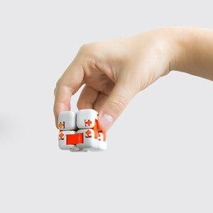 Image 3 - Mới Xiaomi Mitu Cube Spinner Ngón Tay Gạch Trí Thông Minh Đồ Chơi Thông Minh Ngón Tay Đồ Chơi Di Động Cho Xiaomi nhà thông minh Tặng cho Bé