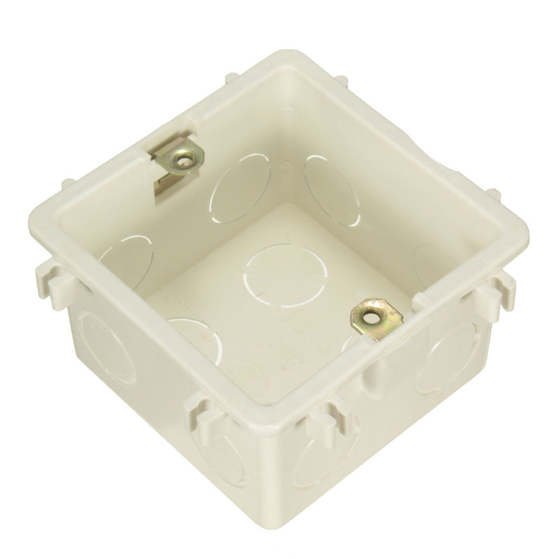 Wall Mounting Box 86/118 Standard-Medium-Large Light Switch Cassette Plastic Material PC Flame Retardant Plastic