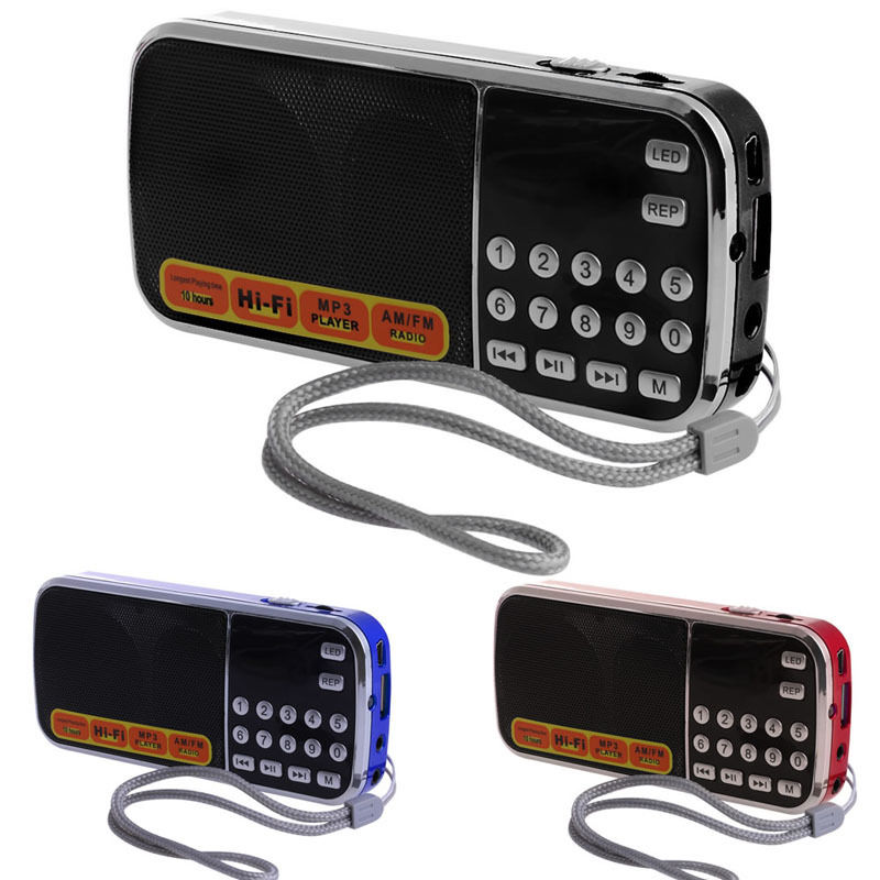 Radio Unterhaltungselektronik Intelligent Ootdty Mini Lcd Empfänger Digitale Fm Am Radio Lautsprecher Usb Micro Sd Tf Karte Mp3-player Wir Nehmen Kunden Als Unsere GöTter
