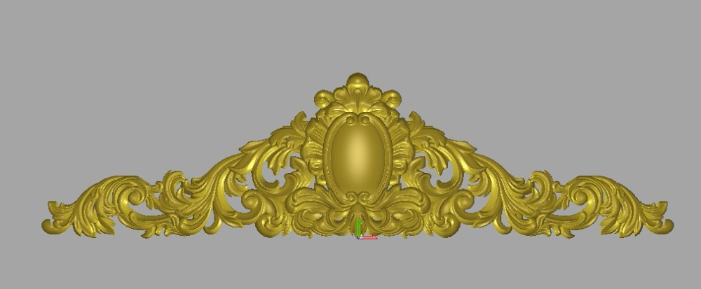 Relief 3d STL Models For CNC, Artcam, Aspire, Decor-B189