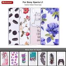Mokoemi Fashion Cute Luxury Soft 5.5For Sony Xperia L1 Case For Sony Xperia L1 Cell Phone Case
