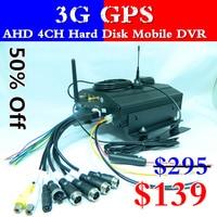 LSZ мобильный видеорегистратор скорой помощи 3g жёсткий диск Автомобильный видеорегистратор gps позиционирования хост мониторинга 4 канала AHD