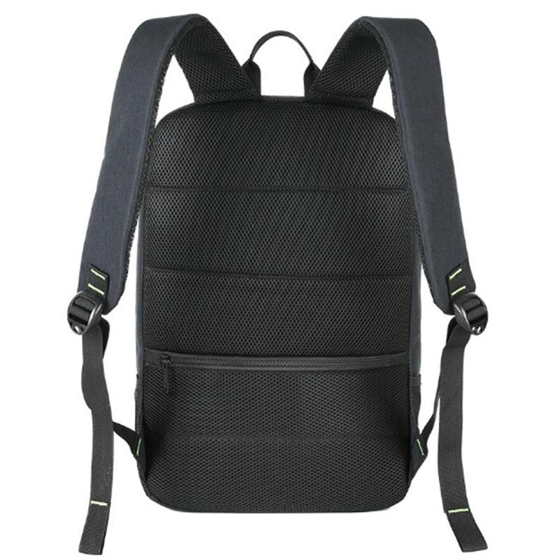 BAIBU hommes sac à dos 10W solaire alimenté sac à dos Usb charge Anti vol sac à dos pour ordinateur portable pour femmes sacoche pour ordinateur portable sacs imperméables - 6