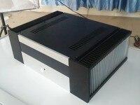 Amplificador de potência Chassis/Alumínio Caso Amplificador De Potência Shell/DIY DAC amp caixa