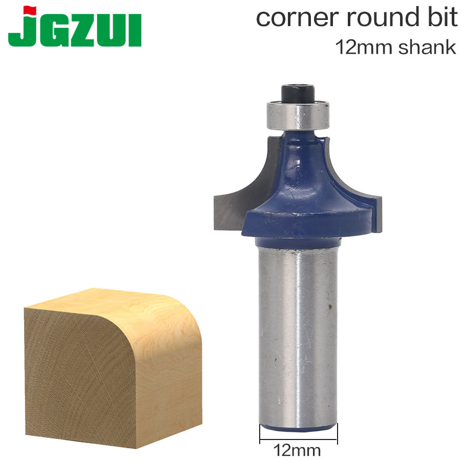 "Round Over Edging Router Bit  Radius - 12"" Shank"