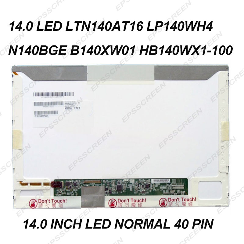 """Dell Latitude E5420 Laptop//Notebook 14/"""" LCD Display Screen Panel Assembly"""