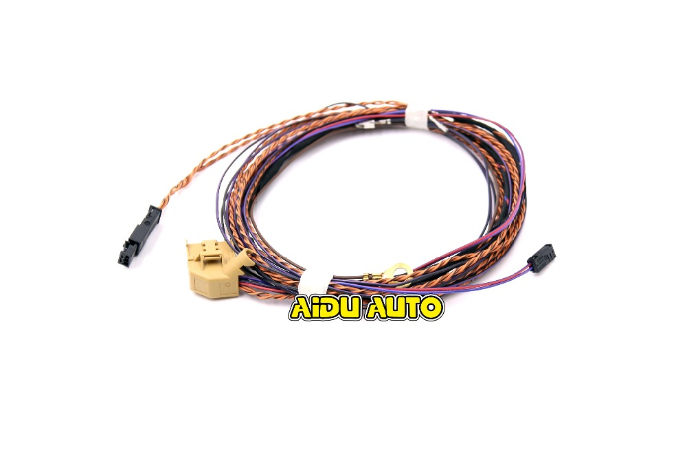 wiring harness rear promotion shop for promotional wiring harness Rear Wire Harness Holder rear ops 4k parking canbus install wire cable harness for polo golf jetta gti passat cc octavia all pq35 pq25 pq46 car Wire Harness Assembly