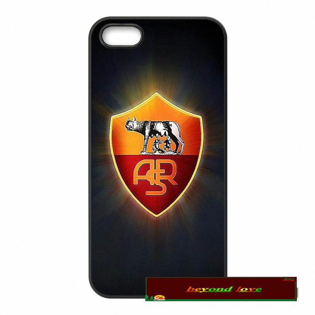 AS Roma Logo Cover case for iphone 4 4s 5 5s 5c 6 6s plus samsung galaxy S3 S4 mini S5 S6 Note 2 3 4  S032