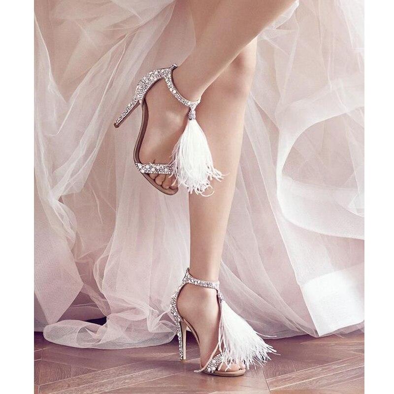 Style Été Fille Nouvelle Sexy Peluche À Femmes Western Apricot Haute Super Mode Sandales 2018 Marque De Chaussures Strass Lady En Jookrrix Talons 8wqgEx