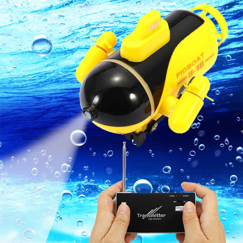 UnabhäNgig 8 Cm Cool Fun Mini Rc Submarine Spielzeug Für Jungen Kinder Kinder Geschenk Smart Boot Indoor Sommer Wasser Spielzeug Ferngesteuertes U-boot