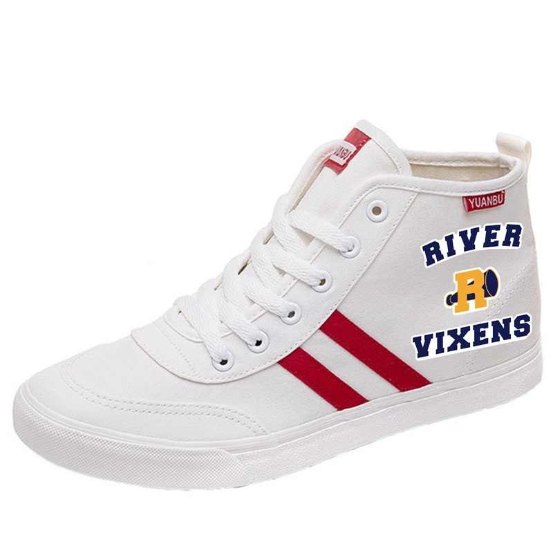 Riverdale Printing Cartoon high top breathable canvas uppers sneakers student personalise fashion Sandshoes A193111