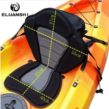 Adjustable Deluxe Padded fishing Kayak Seat Pad Backrest inflatable boat accessories marine bungee hook bungee cord water sports