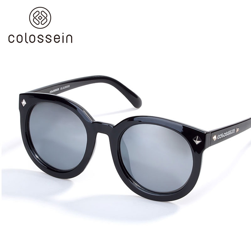 COLOSSEIN font b Fashion b font Polarized Sunglasses Woman Black Brand Cool Sun glasses TR Frame