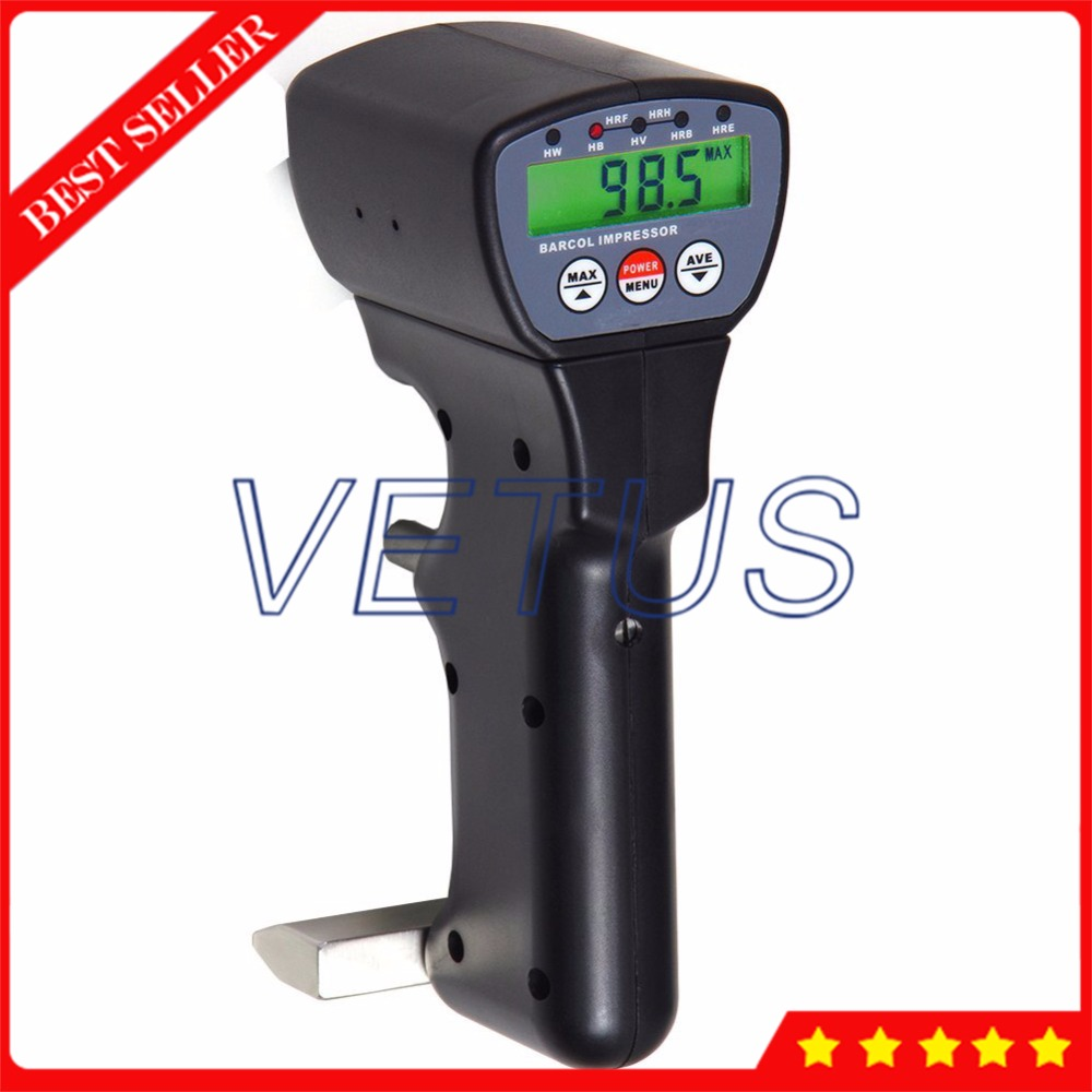 HM 934 1 Portable Barcol Impressor Aluminum Hardness Tester with digital indentation Durometer HB HV HW