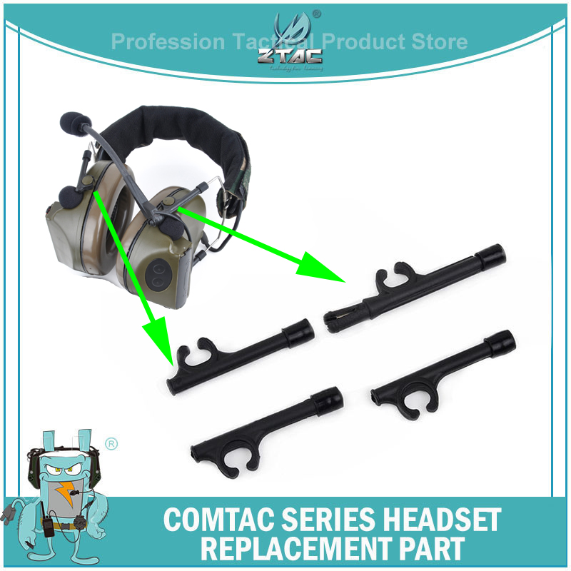 Ztac Tactical Aviation Headset Headband Support Parts Airsoft Element Accessories Hold Stand Holder Softair Peltor Comtac Z013