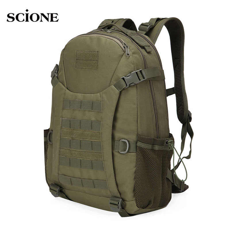 50L Molle Berkemah Ransel Taktis Militer Tas Ransel Tahan Air Ransel Trekking Hiking Outdoor Tas Bahu XA303WA