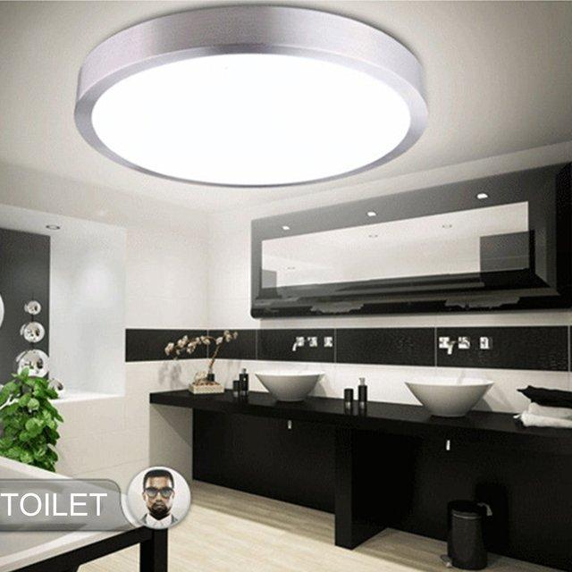 Round LED Ceiling Light Lamp Simple Foyer Fixtures Study Dining living Room hall Home Corridor Lighting Modern