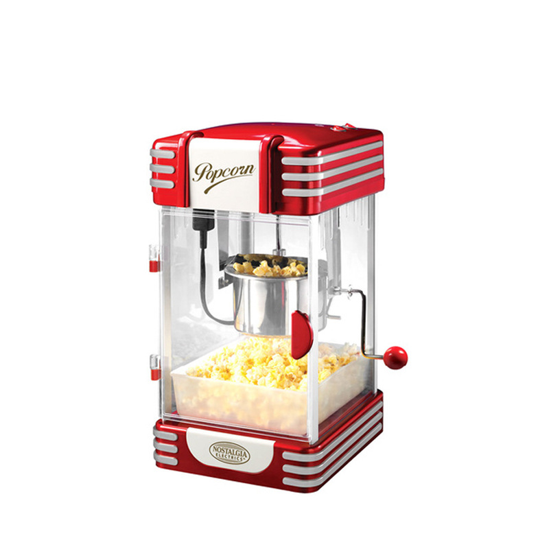 Nostalgia the United States small household machine fried puffed corn and popcorn popcorn multifunctional automatic Jiquan