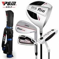 PGM Golf Club мужской практика половины комплект начинающих поляк рукавом PGM