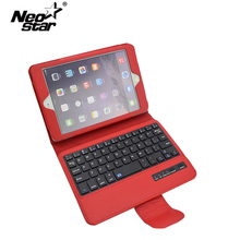 Removable Bluetooth Keyboard Case For IPad Mini 1 2 3 7.9″ Tablet Auto Sleep / Wake With Film + Stylus Pen