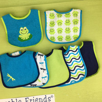Baby Bandana Drool Bibs For Drooling And Teething 7pcs Set Gift Set For Girls And Boys