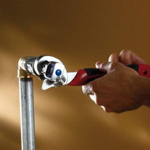 Image 5 - ユニバーサルレンチ調整可能なとグリップトルクレンチ高速蛇口ツールフックレンチセットツールキット家庭用ツールのための車修理