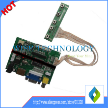 HDMI+VGA+2AV Lcd Display Controller Board Kit for 7