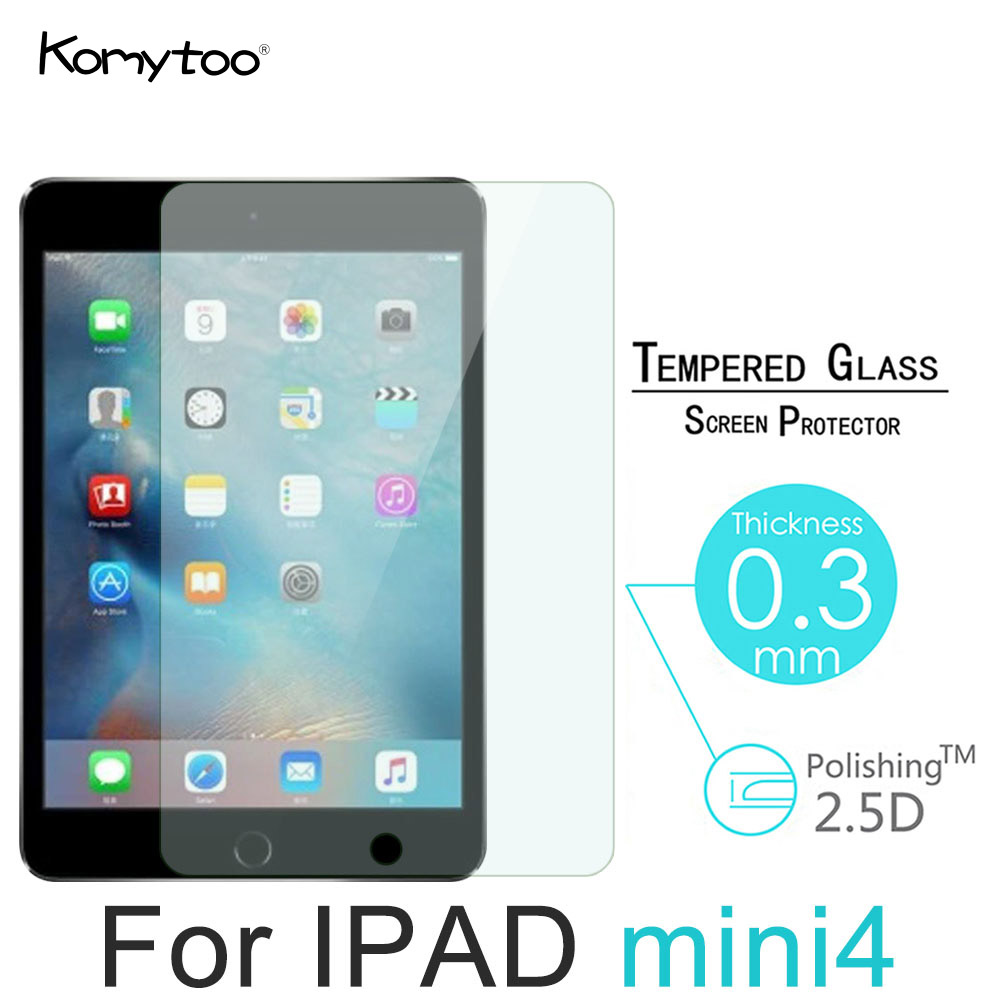 9H Tablet Tempered Glass For Apple 1 2 3 4 Mini 4 Screen Protector Film High Clear Full Cover Film For iPad Mini 1 2 3 4 7.9