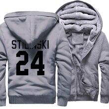 STILINSKI 24 Print Fashion Hip Hop 2017 Winter Thick Hoody Men Teen Wolf Men's Sportswear Harajuku Plus Size 5XL Hoodies Jackets