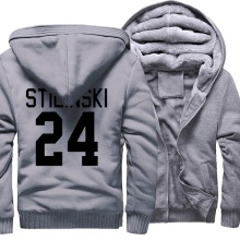 STILINSKI 24 Print Fashion Hip Hop 2018 Winter Thick Hoody Men Teen Wolf Men s Sportswear