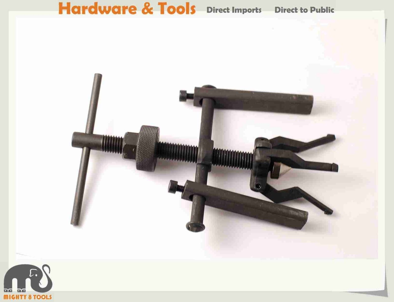 Cr-V 3 Jaw Pilot Internal Bearing Puller Cap. ID 12-38mm Bushing Gear Extractor winmax 6 gear puller 3 jaw set gear pulley bearing puller auto tool