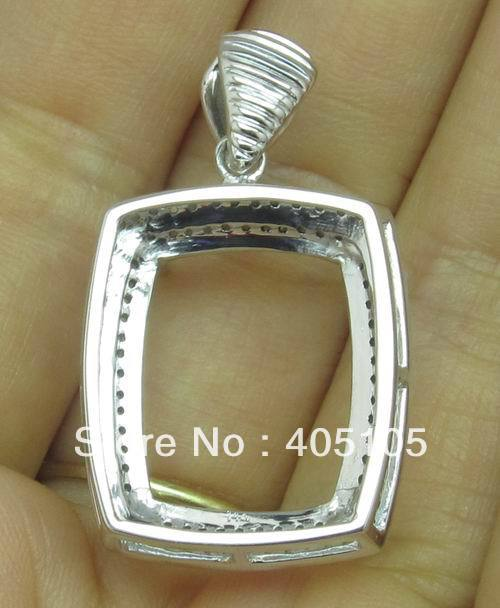 Fashion natural diamond 18x15mm cushion jewellerys solid 14k natural diamond 18x15mm cushion jewellerys solid 14k white gold pendant settings in pendants from jewelry accessories on aliexpress alibaba group mozeypictures Choice Image