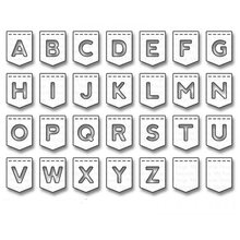 Buy stencil letters banners and get free shipping on aliexpress hemere metal cutting dies uppercase letter banner spiritdancerdesigns Images
