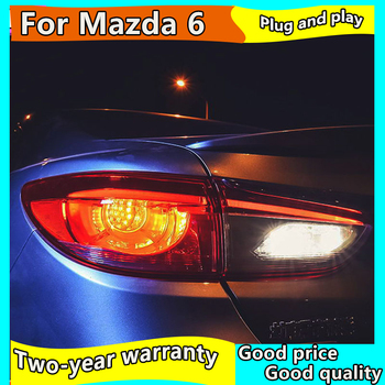 Car Styling Tail Lamp for Mazda 6 Atenza Tail Lights Hybrid LED Tail Light LED Signal LED DRL Stop Rear Lamp Accessories