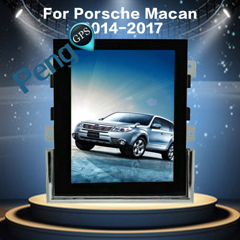 Tesla Style 10 4 Inch IPS Android 6 0 Car GPS Navigation DVD Player for Porsche