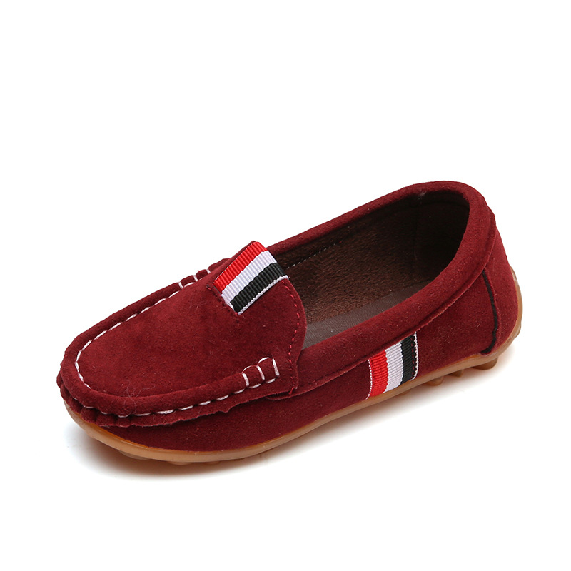 Fashion Boys Shoes Kids Children Soft Flats Sneakers Casual Shoes For Toddler Big Boy Classical Design British All-match Loafers