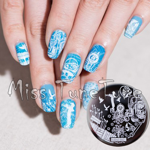 New Stamping Plate hehe62 Music Sound Hayao Miyazaki Anime Nail Art Stamp  Template Image Transfer Stamp - New Stamping Plate Hehe62 Music Sound Hayao Miyazaki Anime Nail Art