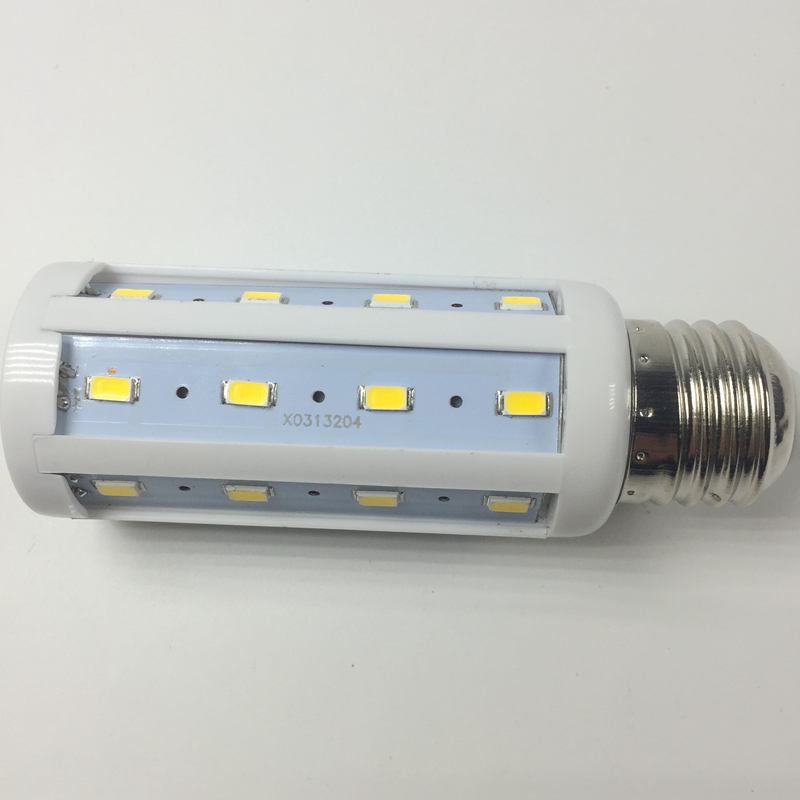 10W E27 SMD 5730 LED Corn Bulb light 360 degree LED Lamp Spotlight For Solar Light System Warm white/ Pure white 12V