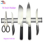 FINDKING 14 Inch Magnetic Knife Bar, Aluminum Magnetic Knife Holder, Magnetic Knife Strip, Knife Rack Strip