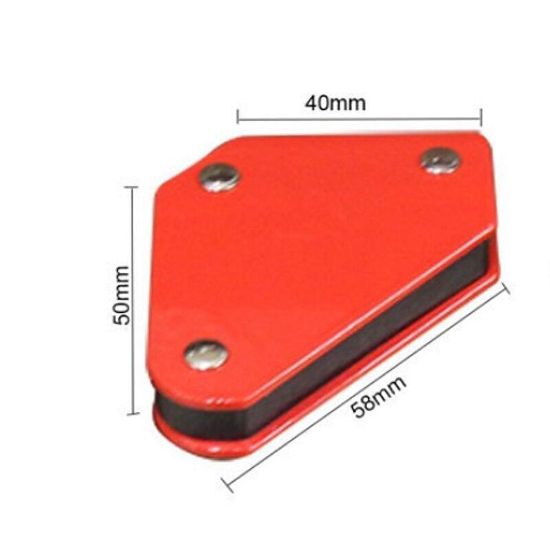 Image 5 - 4pcs 9LB welding magnet Angle Soldering Locator Magnetic Magnet Corner Arrows Welder Welding Holder Tool-in Magnetic Materials from Home Improvement