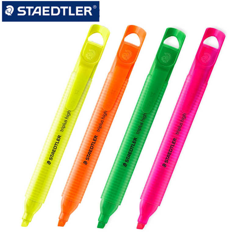 STAEDTLER 3654 Rainbow Triangle Marker Pen Sunlight Highlighter