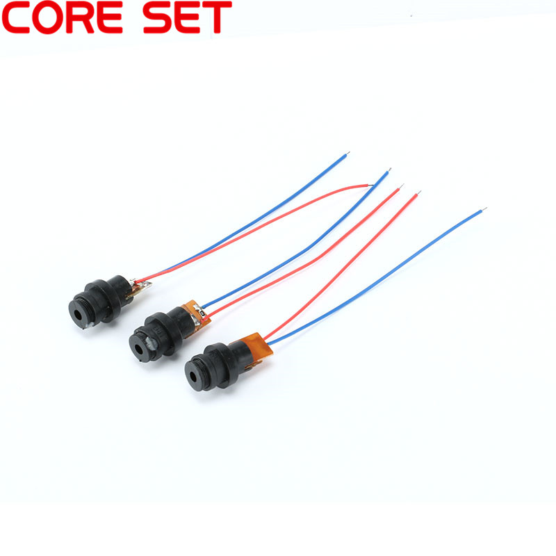 10pcs/Lot DC 4.5V Laser Head Module Laser Point Dot Diode Red Plastic Gyro Module