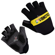 2015 Team Cycling Gloves/Summer MTB Bike Sports Gloves/Half Finger Breathable Racing Bicycle Cycle Ciclismo Gloves