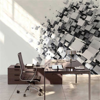 Modern And Fashion Natural Fiber Non Woven Wallpaper Solid Color Victoria For Living Room