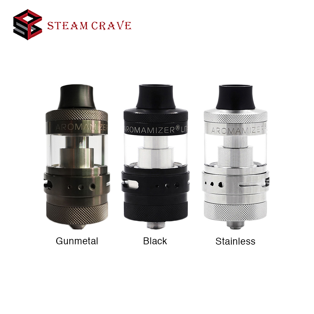 Steam Crave Aromamizer Lite RTA 23mm 3 5ml Capacity with 23mm diameter single Coil Build Deck